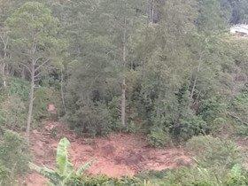 Crop loss, soil erosion and mudslides in Los Linderos 2020
