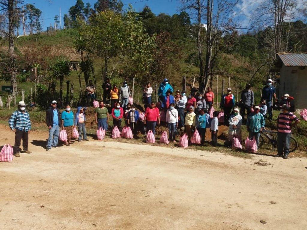 Los Linderos community affected by hurricane damage Dec 2020